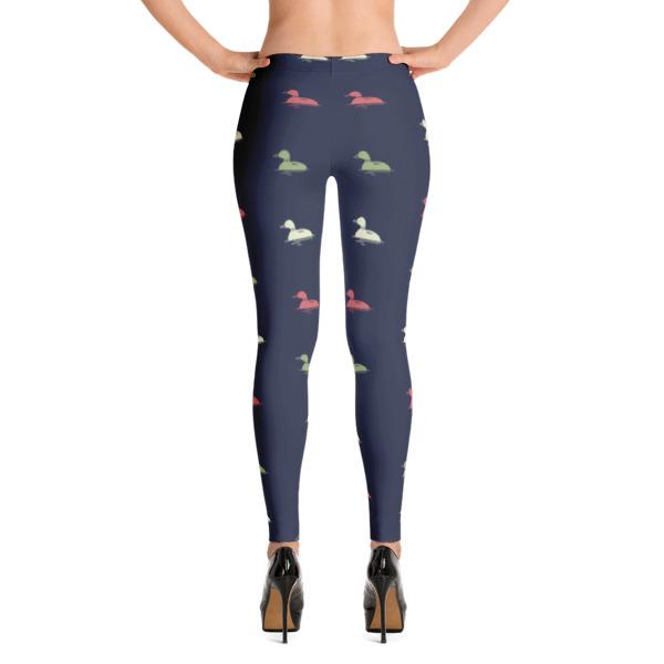 Nokomis Loon Pattern 4 Leggings