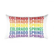 Colorado Springs Pride Pillow