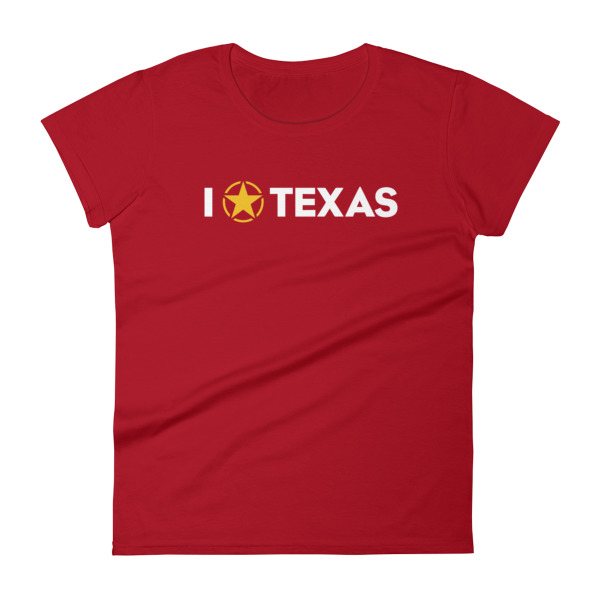 I Lone Star Texas Tee Women