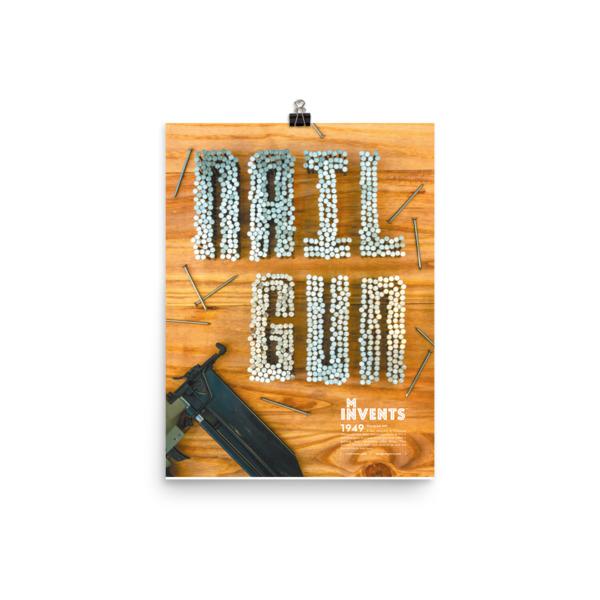 Nail Gun Poster