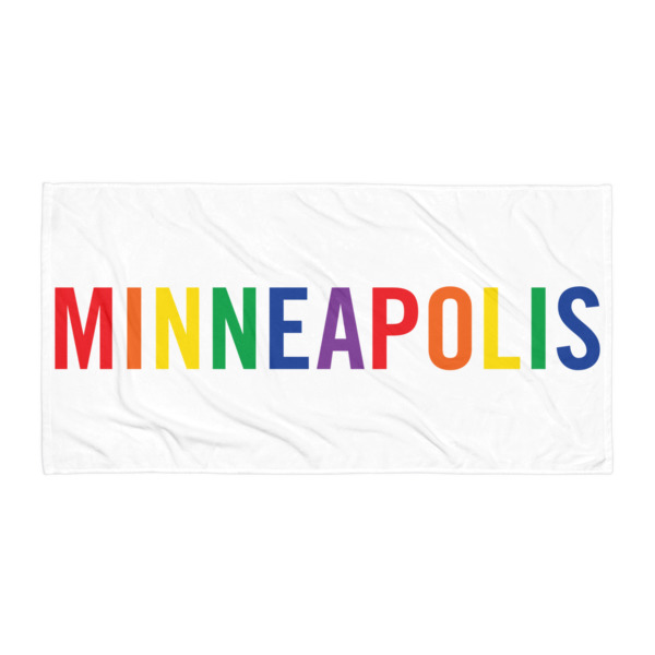 Minneapolis Pride Beach Blanket 2