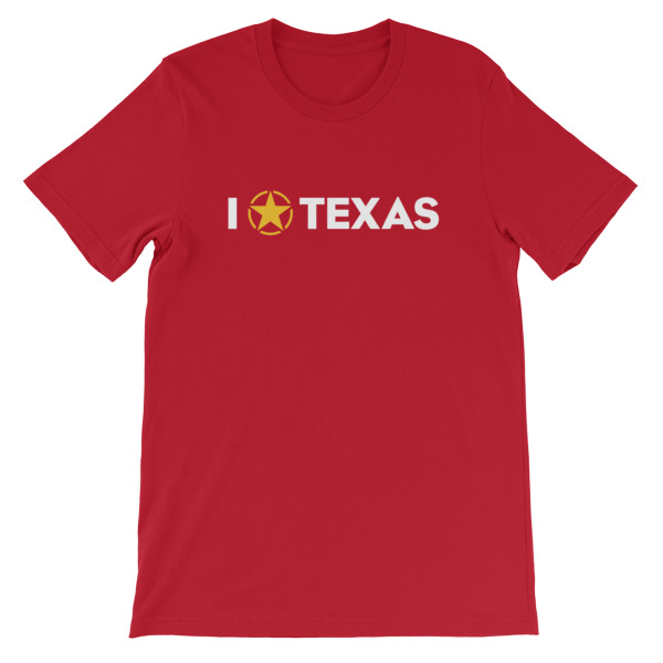 I Lone Star Texas Tee