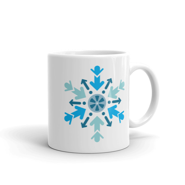 Cool Films Arrow Flake Mug