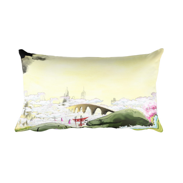 Ukiyo-e Pillow