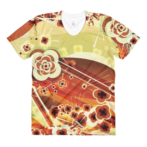 Ukiyo-e Abstract Tee Women