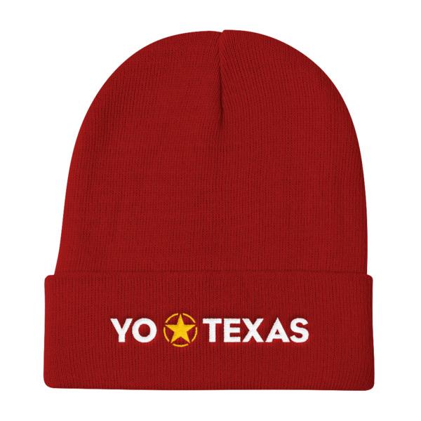 Yo Estrella Solitaria Texas Beanie