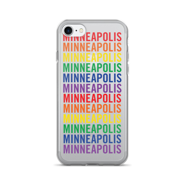 Minneapolis Pride Pattern Case 7/7+