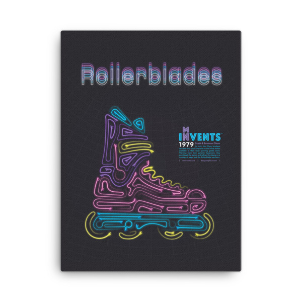 Rollerblades Poster Canvas