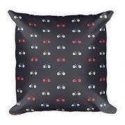 Nokomis Bike Pattern 3 Pillow