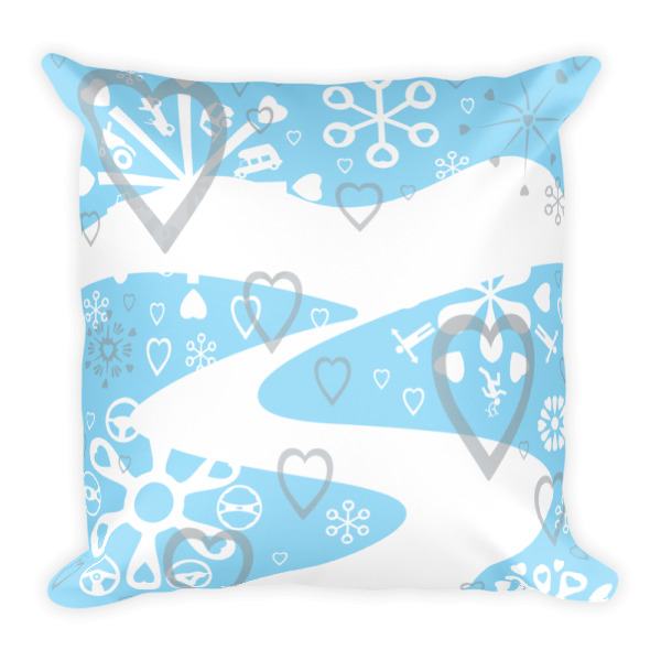 Winter Wandering Pillow