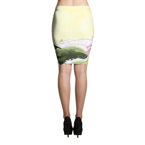Ukiyo-e Skirt
