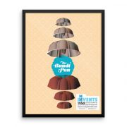 Bundt Pan Poster Framed