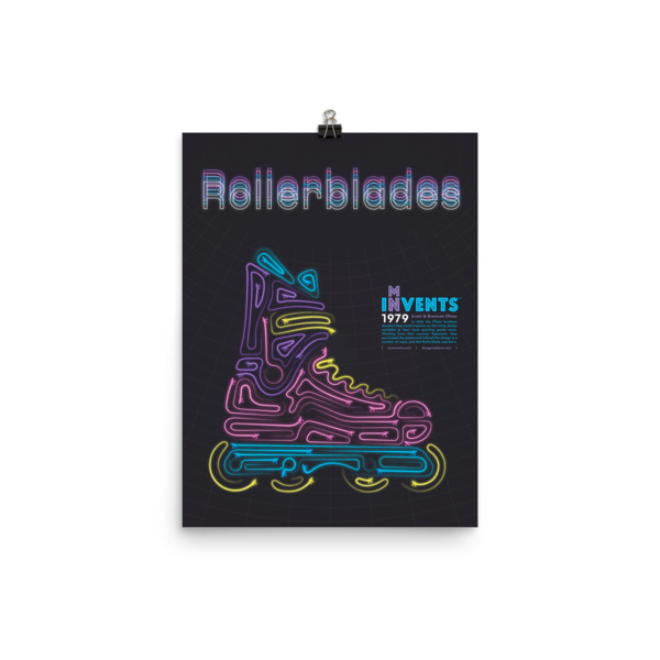 Rollerblades Poster