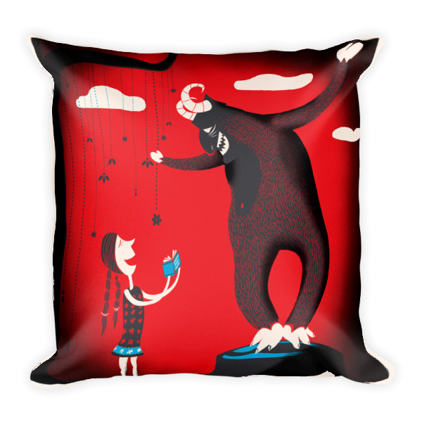 Not So Grimm Pillow