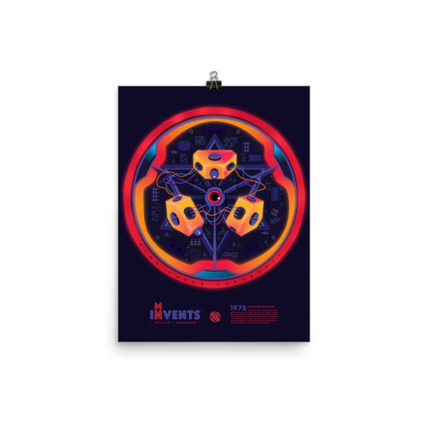 Ring Laser Gyroscope Poster