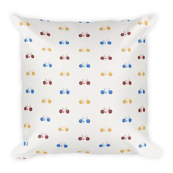 Nokomis Bike Pattern 1 Pillows
