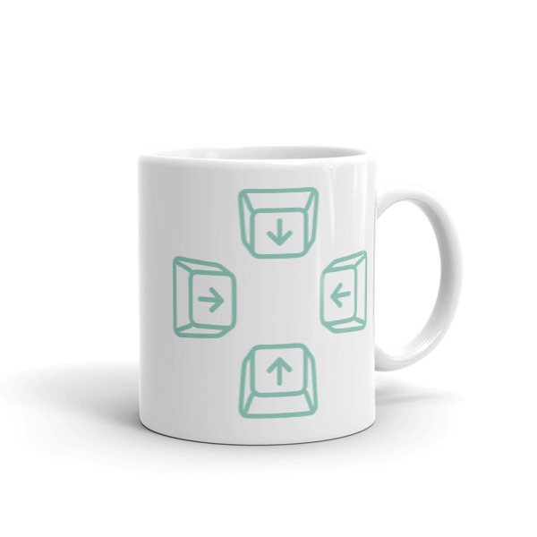 Escape Key Arrows Mug