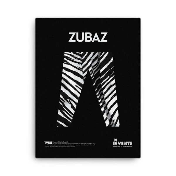 Zubaz Poster Canvas