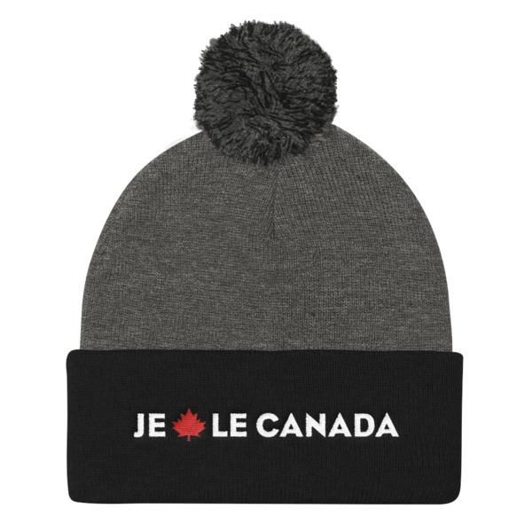 Je Érable le Canada Pom Pom Beanie