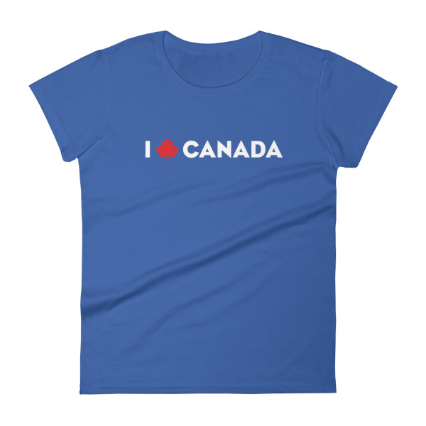 I Maple Canada Tee Women