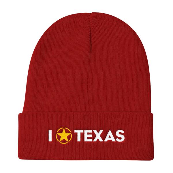 I Lone Star Texas Beanie