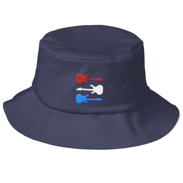 Freedom Fun Guitars Bucket Hat