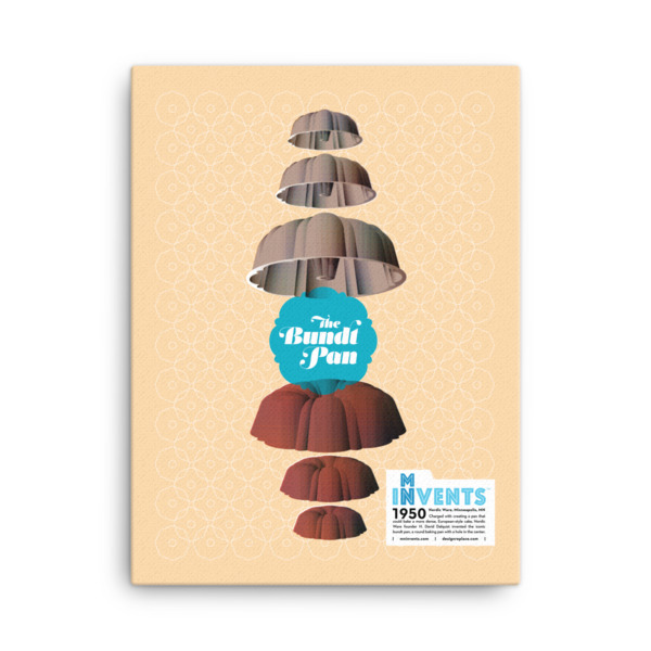 Bundt Pan Poster Canvas