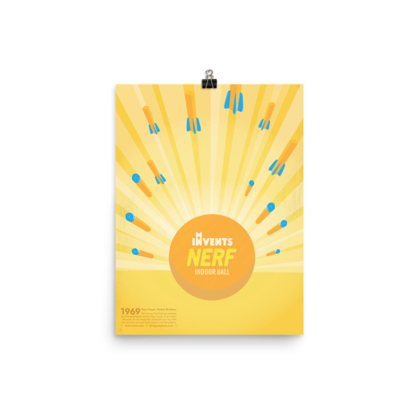 Nerf Indoor Ball Poster