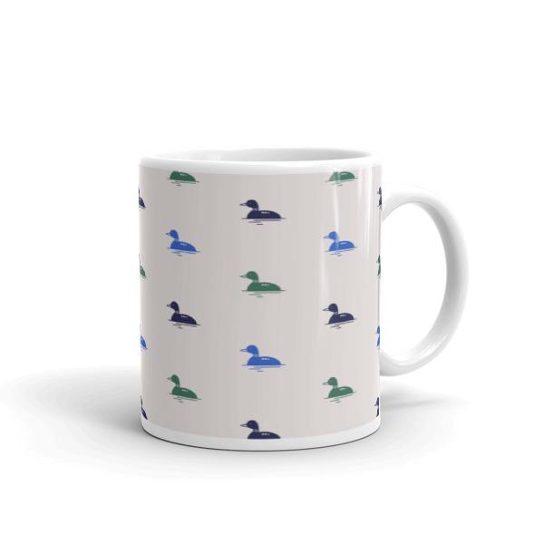 Nokomis Loon Pattern 1 Mug
