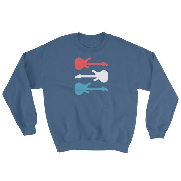 Freedom Fun Guitars Crewneck