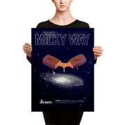 Milky Way Bar Poster Canvas