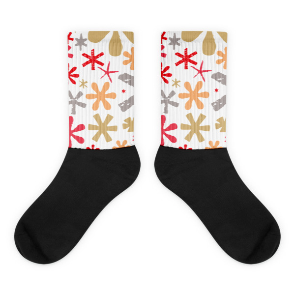 Asterisks Socks