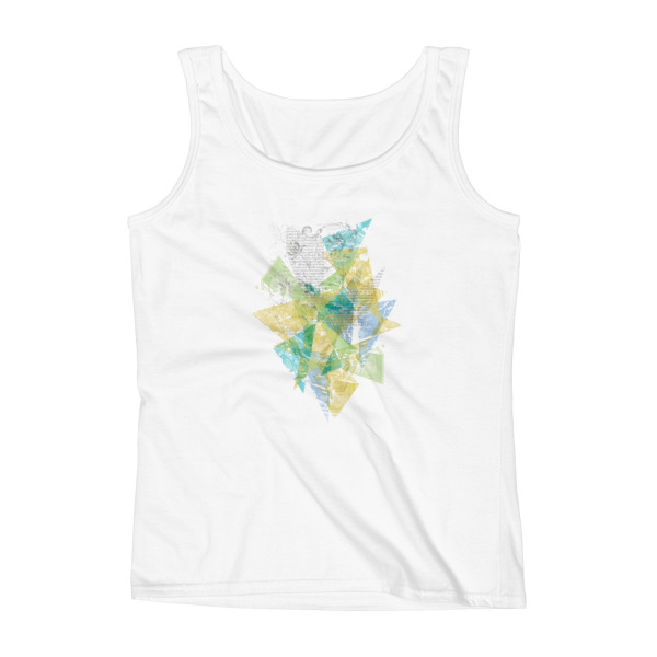 Literary Fragments Tank Women