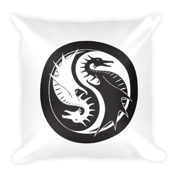 Yīn Yáng Lóng Pillow