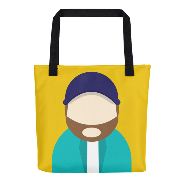 Anonymous Beard Tote