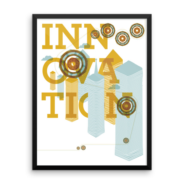 Innovation Poster Framed