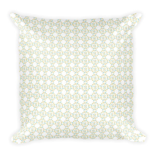 Asterisks Grid Pillow