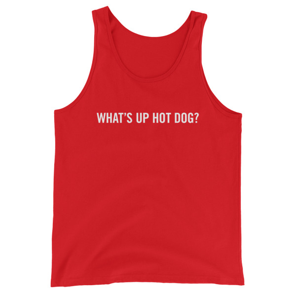 What's Up Hot Dog Tank