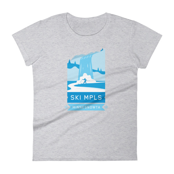 SKI MINNEAPOLIS Women's short sleeve t-shirt