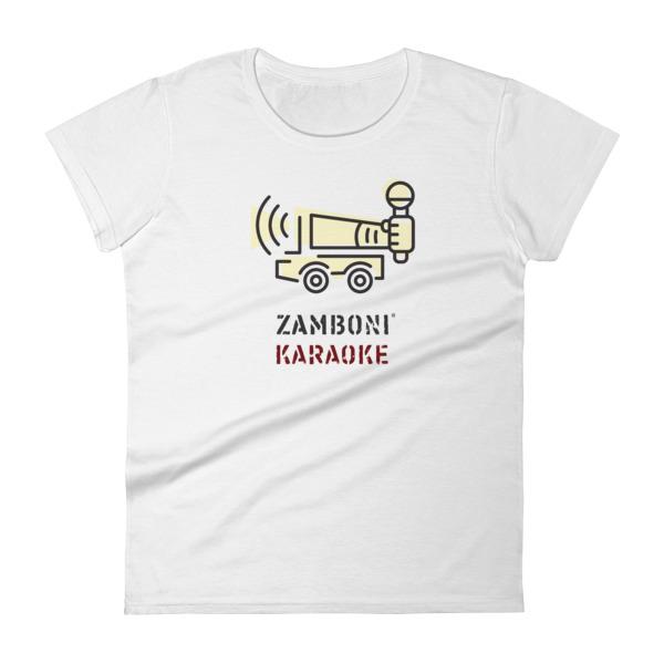 Zamboni Karaoke Tee Women