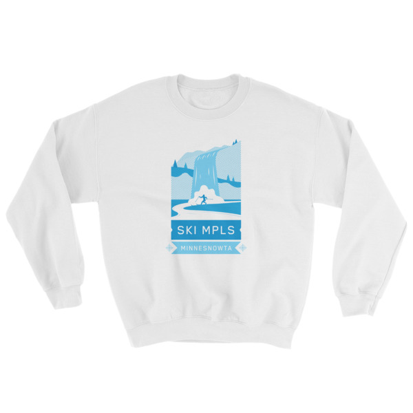 SKI MINNEAPOLIS Crewneck Sweatshirt