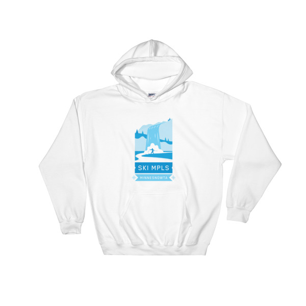 SKI MINNEAPOLIS Hooded Sweatshirt