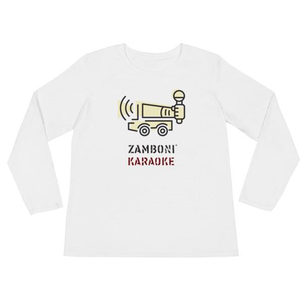 Zamboni Karaoke Shirt Longsleeve Women