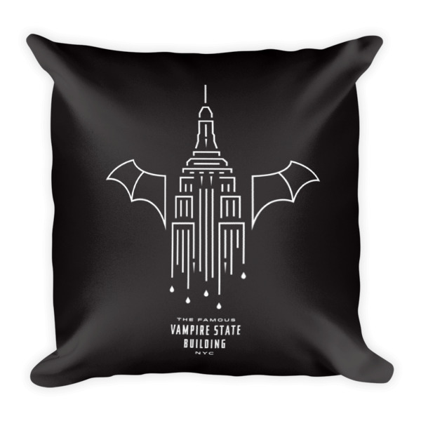 Dripping Fangs Pillow