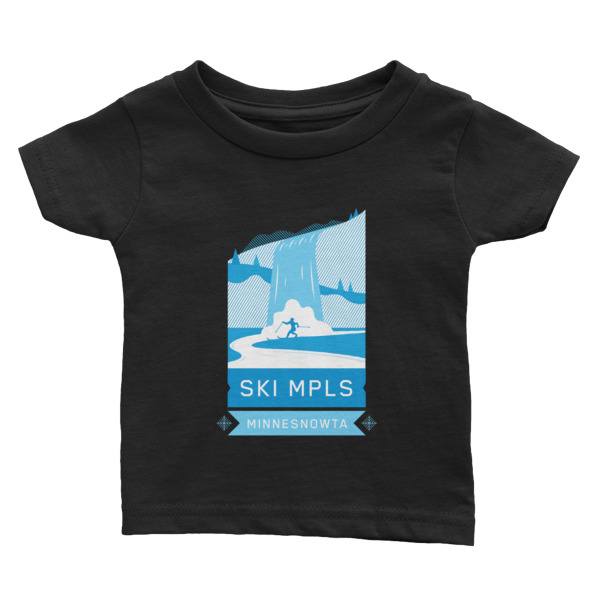 SKI MINNEAPOLIS Infant Tee