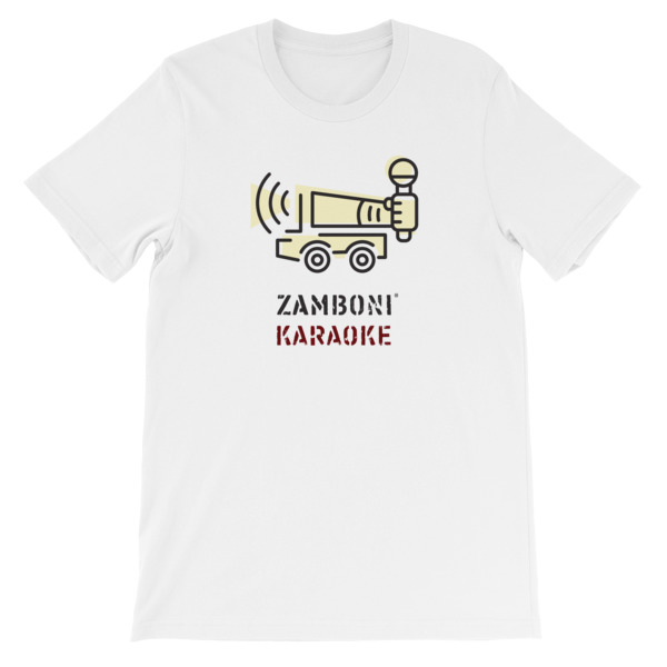Zamboni Karaoke Tee
