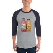 Fruitopia 3/4 sleeve raglan shirt