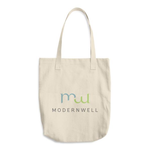 ModernWell Cotton Tote Bag