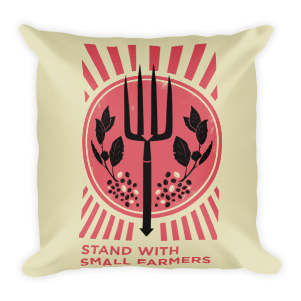 Support Small Farmers Square Pillow