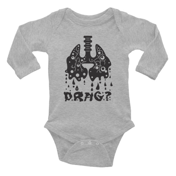 Total Drag Infant Long Sleeve Bodysuit